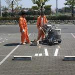 Marukami Works 溶融路面標示