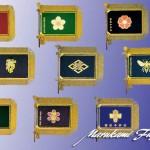 本刺しゅう本旗デザイン製作 染・織・刺繍で一点物をお届けします¥25万~