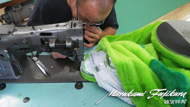 着ぐるみの修理とミシン補修